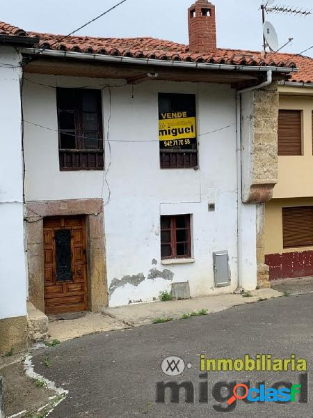 Se vende conjunto de casa con terreno para rehabilitar en