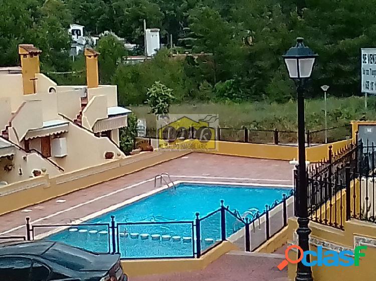 Adosado amueblado con piscina