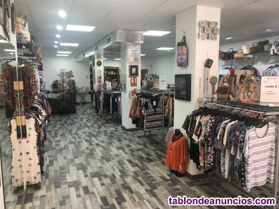Traspaso de tienda de ropa y complementos
