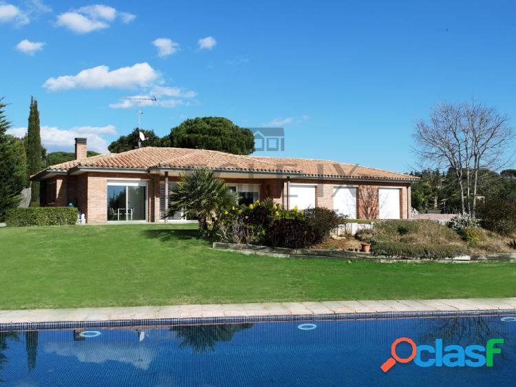 Casa estilo Mediterráneo en una sola planta