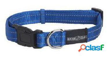 Kruuse Collar Ajustable Gear Reflectante Azul 25 x 450-650