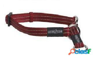 Kruuse Collar medio Buster Reflectante rojo 15 x 280-400 mm