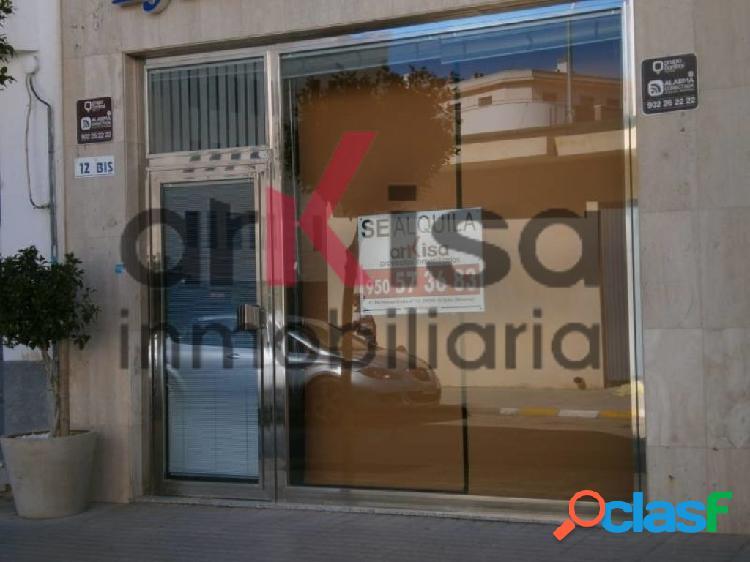 Alquiler de local comercial en El Ejido, zona auditorio