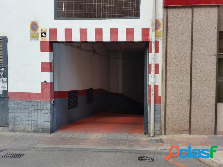 Plaza de garaje en el centro de Murcia
