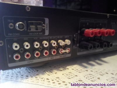Amplificador fonestar + dos altavoces sony