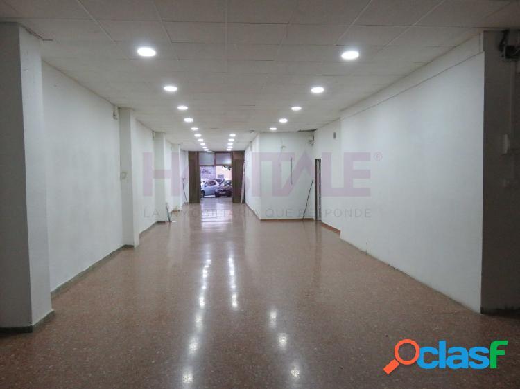 Local comercial de 170 m2 en Ruzafa.
