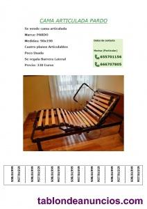 Se vende cama articulada a motor