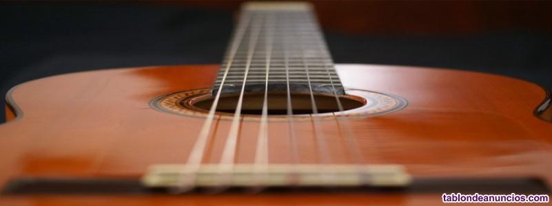 Clases de iniciación a la guitarra a domicilio en cáceres