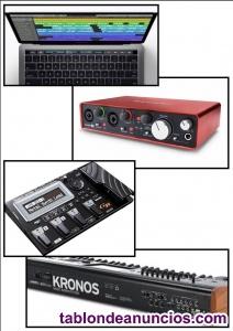 Clases particulares de informatica musical y tecnología