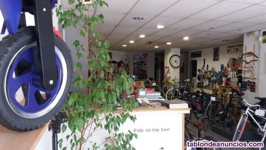 Traspaso tienda de bicis