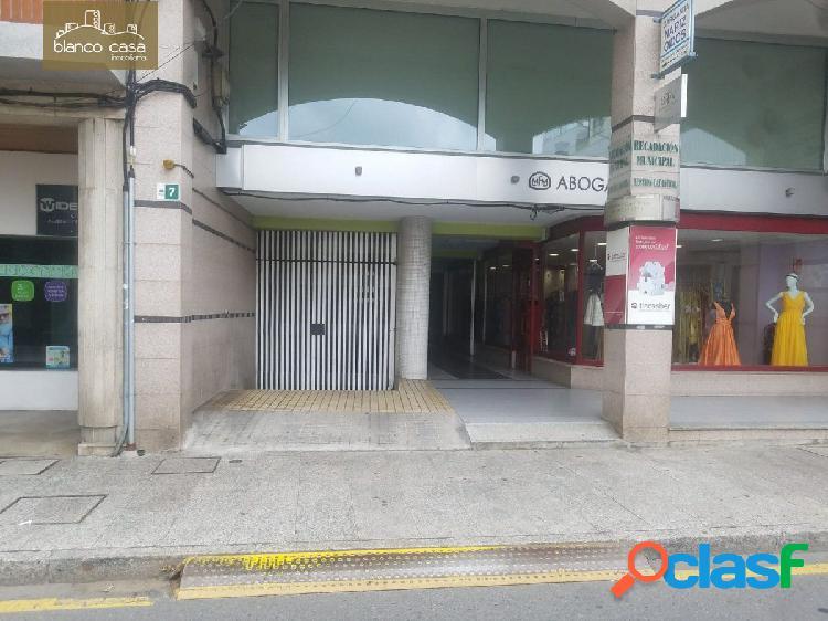 Alquiler de plaza de garaje en el centro de Carballo