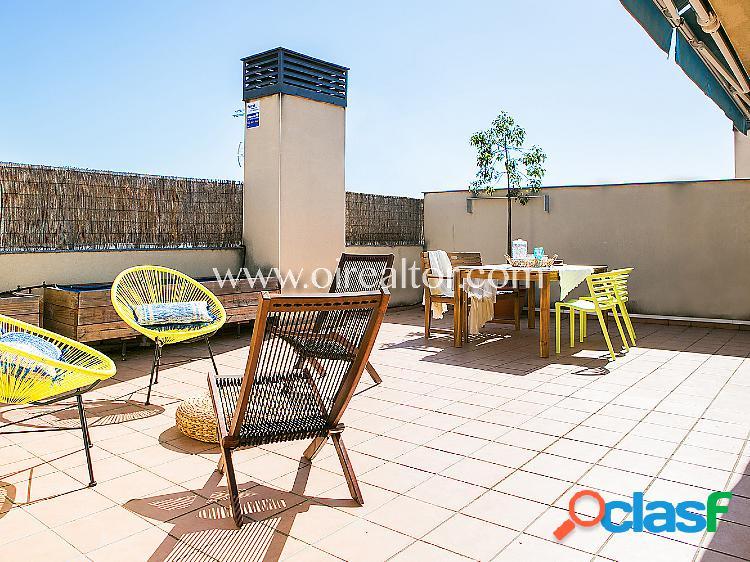 Ático dúplex en venta en Mataró