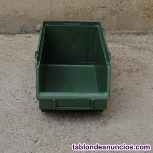Cubeta apilable 14x26x12cm