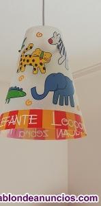 Vendo lampara infantil