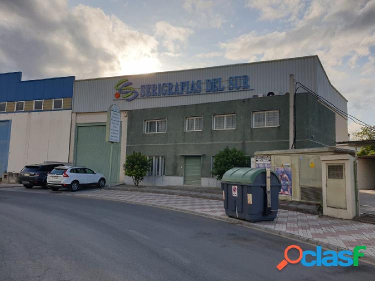 Alquiler nave industrial en polígono industrial de Macarena