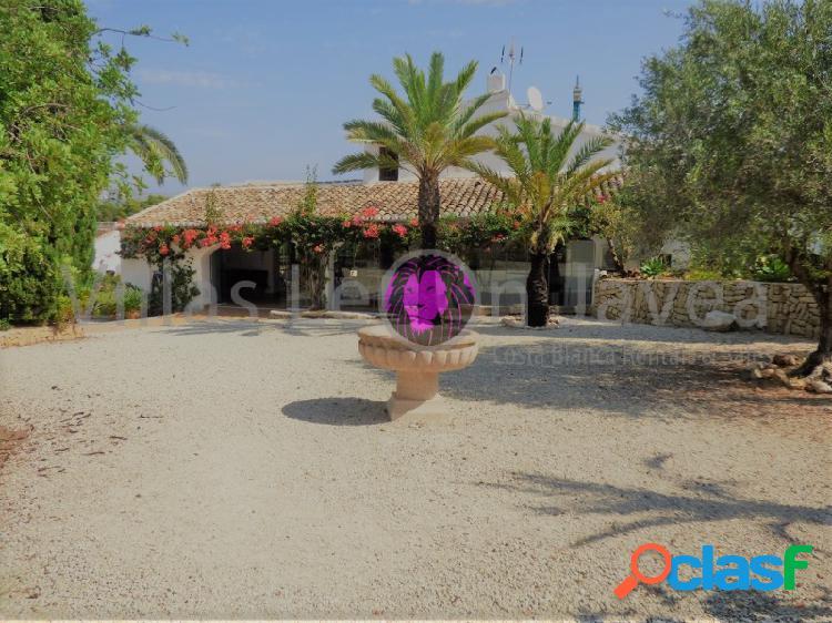 Preciosa finca rustica en venta en Jávea (Alicante - Costa