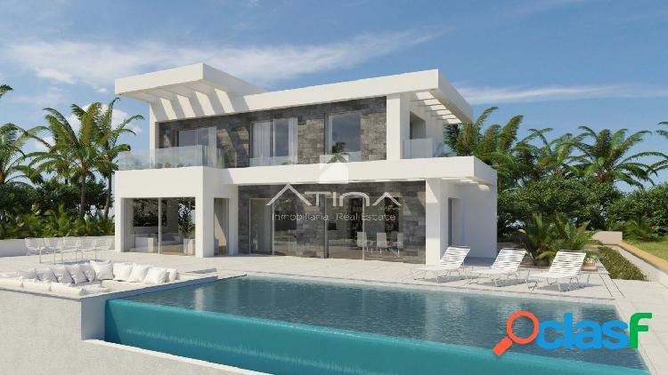 Proyecto de villa de lujo independiente en el Tosalet,