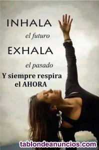 Clases de yoga (principio-interm)/estiramientos/ acroyoga