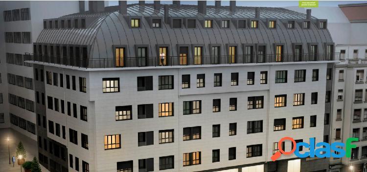 Bilbao, obra nueva, pisos de 2 o 3 habitaciones con garaje y