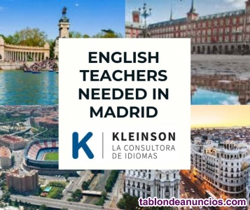 In company english classes in sanchinarro - madrid