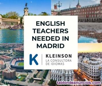 In company english classes in alcobendas (la granja) -