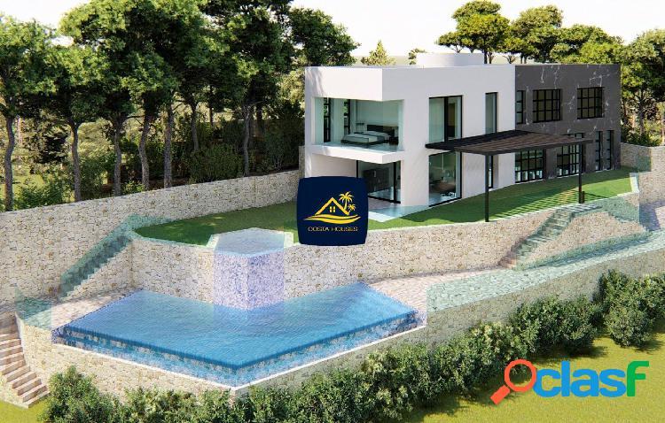 Villa de estilo Modernista con Vistas al MAR en Javea ·