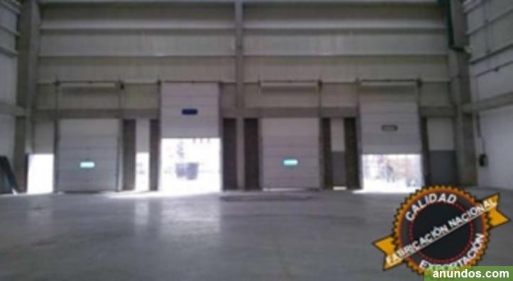Fabricante de puertas seccionales - Madrid Ciudad