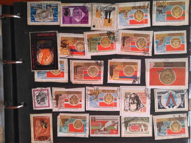 Vendo sellos antigua unión soviética