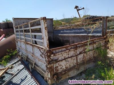 Caja para camion abierta de 2,75x1,80 m