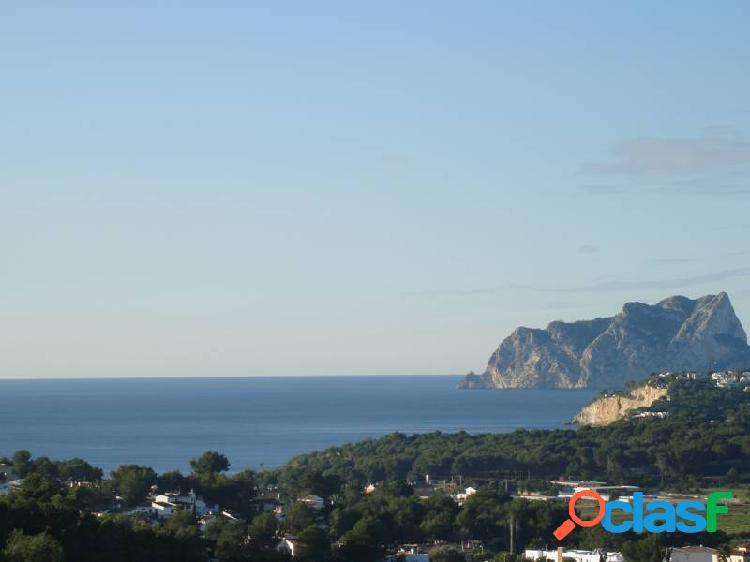 Casa fantástica con vistas al mar a Moraira
