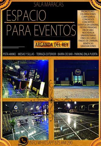 ESPACIO PARA EVENTOS - ARGANDA DEL REY