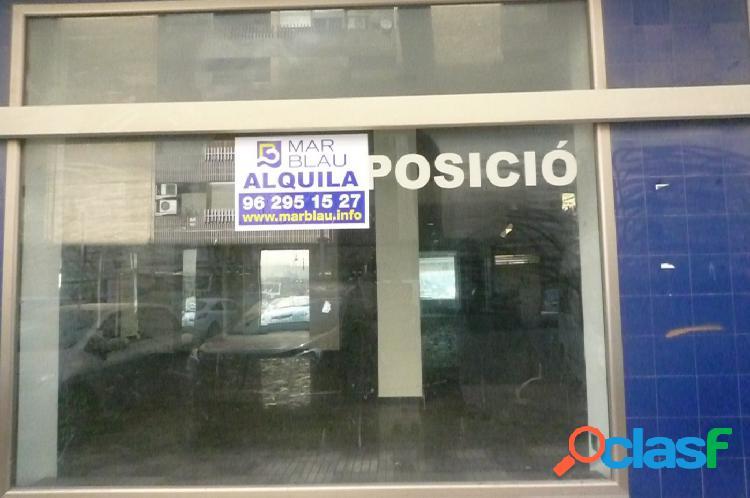 LOCAL EN ALQUILER CON ENTRADA A DOS CALLES.
