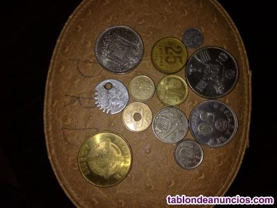 Se venden monedas de pesetas, precio a convenir