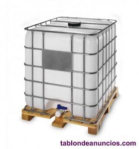 Se vende contenedor (deposito) ibc de  litros