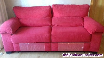 ¡¡chollo!! vendo 2 sofás relax 3 plazas.