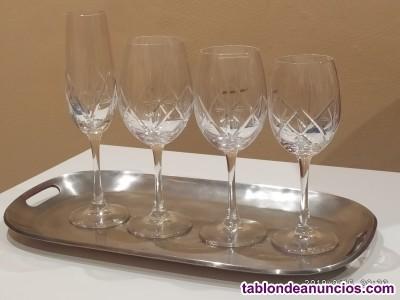 Cristalería de bohemia de 6 servicios