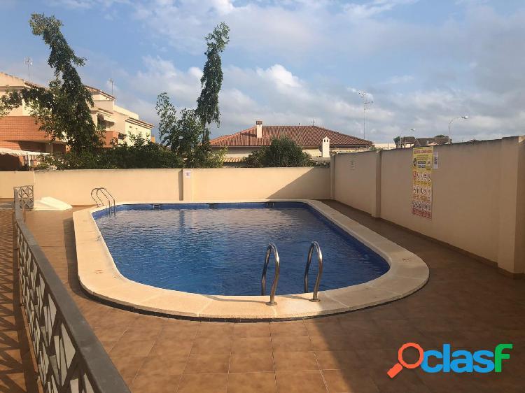 Duplex en zona exclusiva y tranquila de San Javier