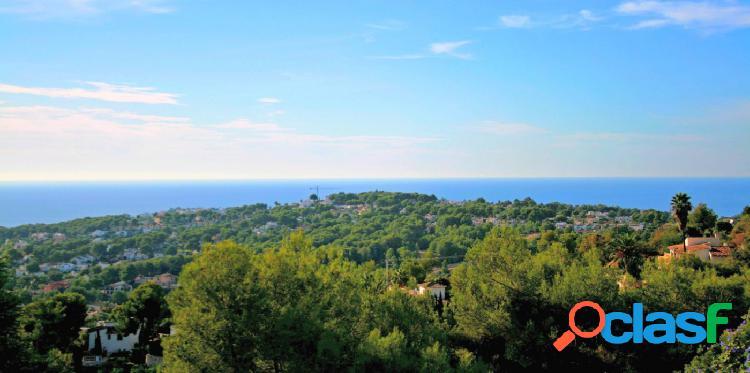 Parcela con Vistas al Mar en venta en Benimeit Moraira