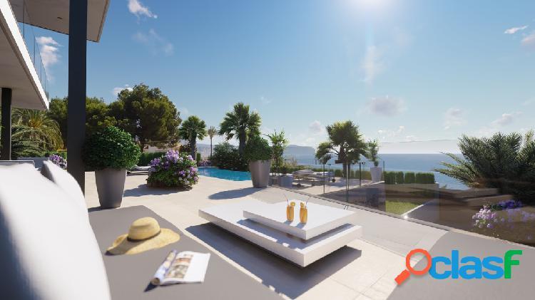 Villa estilo moderno de nueva construcción a tan solo 150