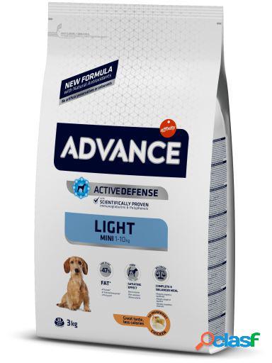 Advance Pienso para Perros Adultos Raza Mini Light 3 Kg