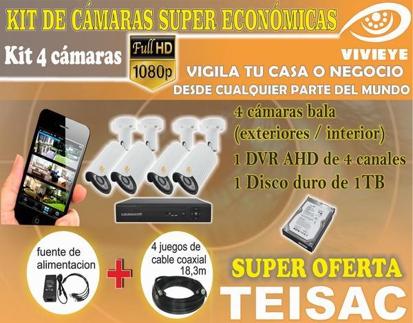 INSTALACION DE CAMARAS DE SEGURIDA HD-FULL HD