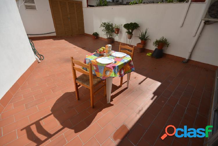Fantástico piso con terraza en el centro de Palma