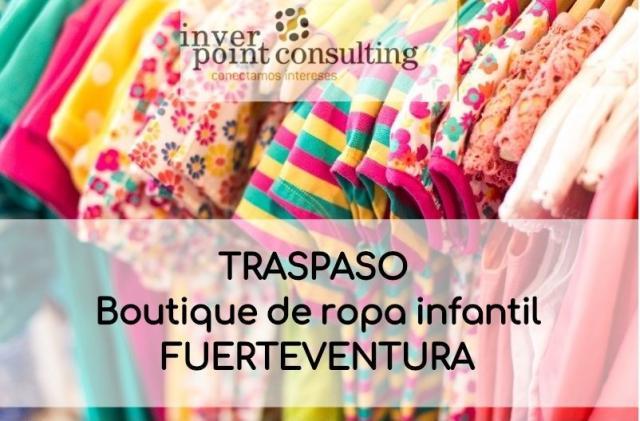 Se vende tienda boutique de moda infantil en Fuerteventura