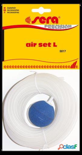 """Sera Air Set """"L"""" Con Tubo De 10 M 145 gr"""