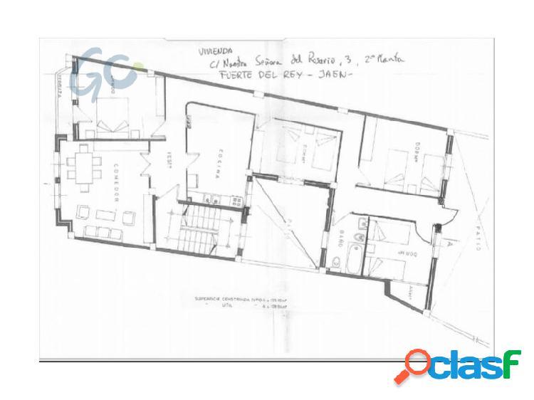 Venta de piso de 4 dormitorios en Fuerte del Rey (Jaen)