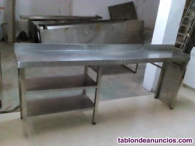 Mueble auxiliar contra barra