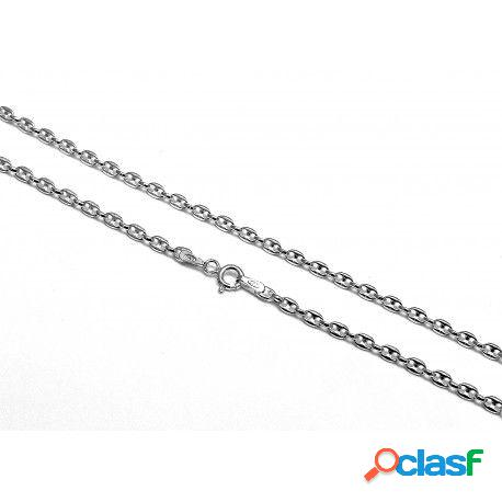 Cadena de plata de ley calabrote 60 cm.2 mm.