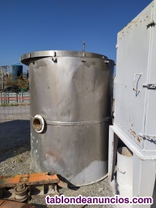Deposito de acero inoxidable doble capa