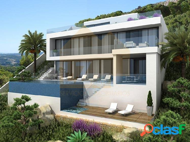 Luxury villa with 330 m2 of housing and 1115 m2 plot