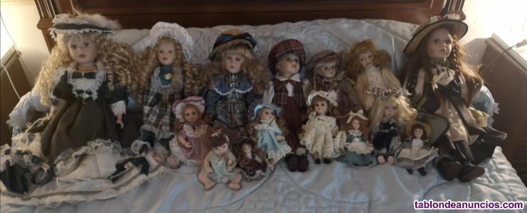 Venta de muñecas antiguas, porcelana